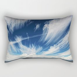 Sky and Clouds at Lake Titicaca Peru - Bolivia in the Andes Mountains Photograph Rectangular Pillow