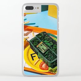 SNACK TIME Clear iPhone Case