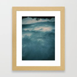 I was looking for heaven Framed Art Print