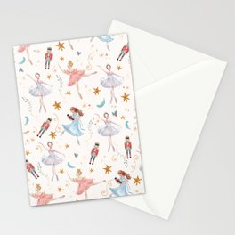 Christmas ballet Stationery Cards