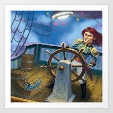 Sky Pirate Art Print