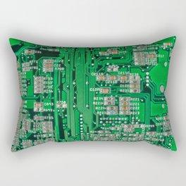 Circuit Board Rectangular Pillow