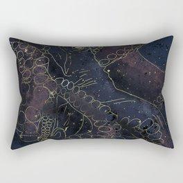 Space octopus Rectangular Pillow