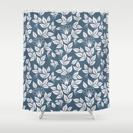 Leaves Pattern 7 Shower Curtain