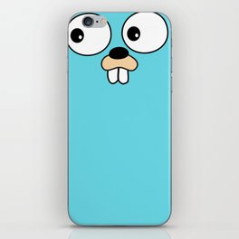 Gopher - Golang iPhone Skin