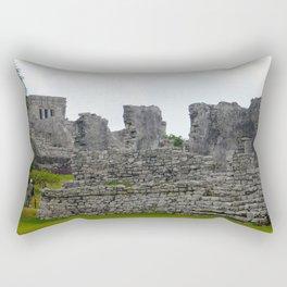 El Castillo Rectangular Pillow