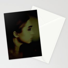 Looking Away Stationery Cards