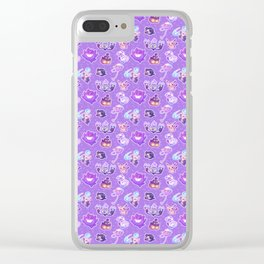 Spooky Friends Clear iPhone Case