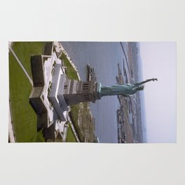 Statue of Liberty Photograph - 7 Rug