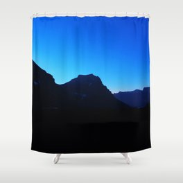 Dawn at Glacier National Park, Rocky Mountains, Going to the Sun Road, Logan Pass Shower Curtain