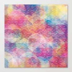 Cuben Web Canvas Print