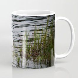 Egret Patiently Waiting Coffee Mug