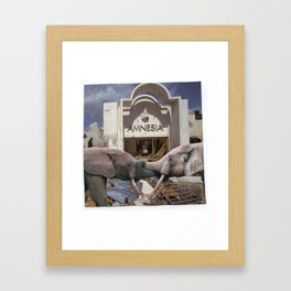 Armwrestling Framed Art Print