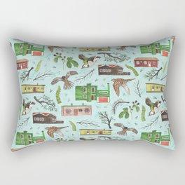 Where I grew up Rectangular Pillow
