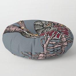 Steampunk Monster Floor Pillow