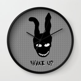 Donnie Darko Wake Up Wall Clock