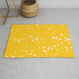 Yellow Stars Rug