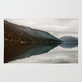 Milky Lake Crescent  Rug