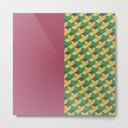 Tomioka Pattern Metal Print
