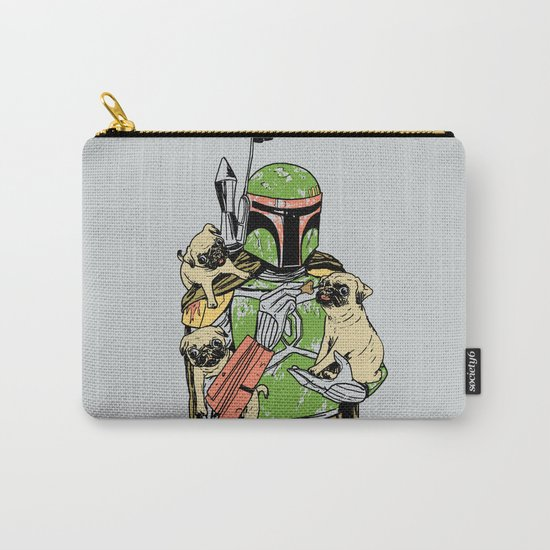 Pug Hunter Carry-All Pouch