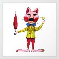 Let's Party - Jackie Art Print