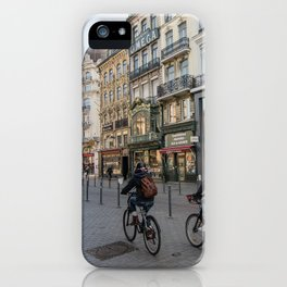 Lille Street vlille city bike iPhone Case