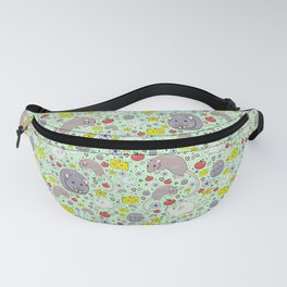 Cute Rats and Mice Fanny Pack
