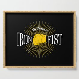 The Immortal Iron Fist Vintage Style Serving Tray