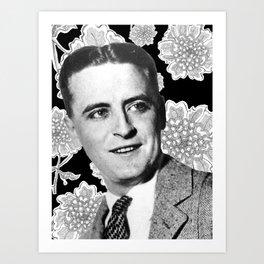 F. Scott Fitzgerald Art Print