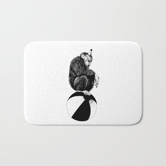 Chimp Bath Mat
