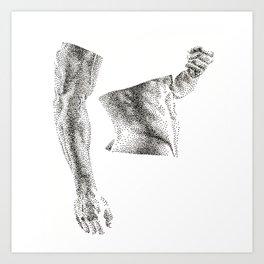 Bruce - Nood Dood Art Print