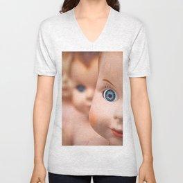 Baby Blue Eyes Unisex V-Neck