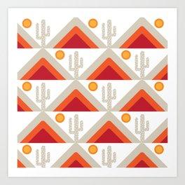 DESERT HILLS 1 Art Print