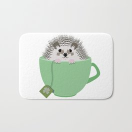 St. Patrick's Hedgehog Bath Mat