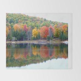 Autumn Reflection Throw Blanket