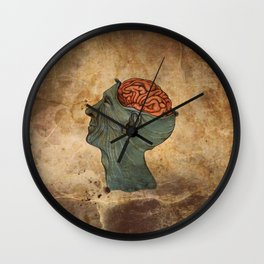 Mind Wide Open Wall Clock