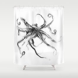 Star Octopus Shower Curtain