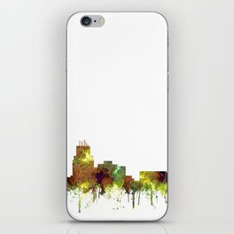 Durham, NC Skyline SG - Safari Buff iPhone Skin