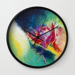 """Bravery""  Wall Clock"
