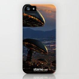 Mushroom City iPhone Case