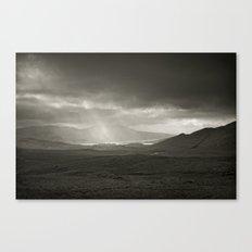 When the rain comes Canvas Print