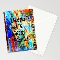 Crayon Box 2 Stationery Cards