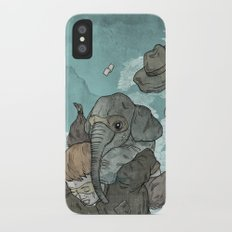 A dream about robbing a bank together iPhone X Slim Case