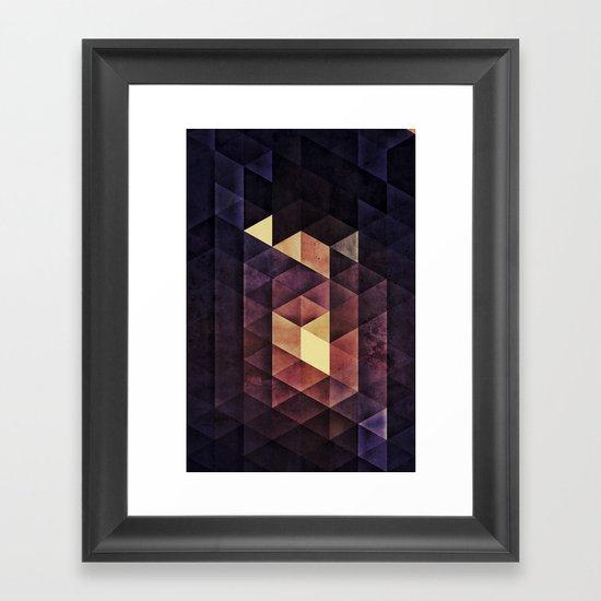 SYSTYM Z Framed Art Print