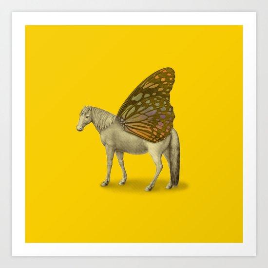 Pegamorphosis Art Print