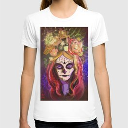 Day of the Dead Blue Eyes T-shirt