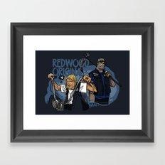 Redwood Original Framed Art Print