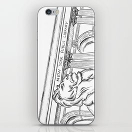 New York Public Library  iPhone Skin