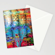 ABSTRACT - Friendship Stationery Cards