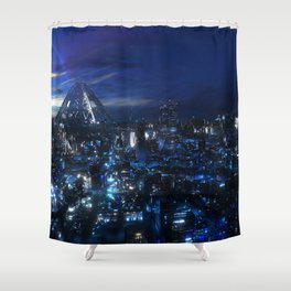 Guilty Crown Anime Shower Curtain